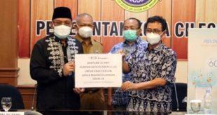 Pemkot Cilegon Terima Bantuan Alat Penyaring Udara dari PT INEOS Aromatic Indonesia
