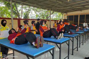 Polda Banten Gelar Tes Kesamaptaan Ketahanan Fisik Personel