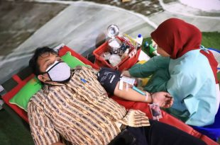 Sambut HUT RI Ke-76, PMI Kota Tangerang Gencarkan Donor Darah
