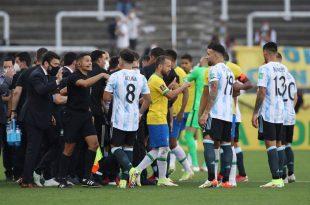 4 Pemain Argentina Melanggar Karantina Covid-19, Pertandingan Melawan Brazil Dihentikan