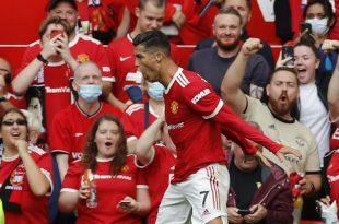 Manchester United Vs Newcastle 4-1, Ronaldo Cetak Dua Gol Dalam Pertandingan