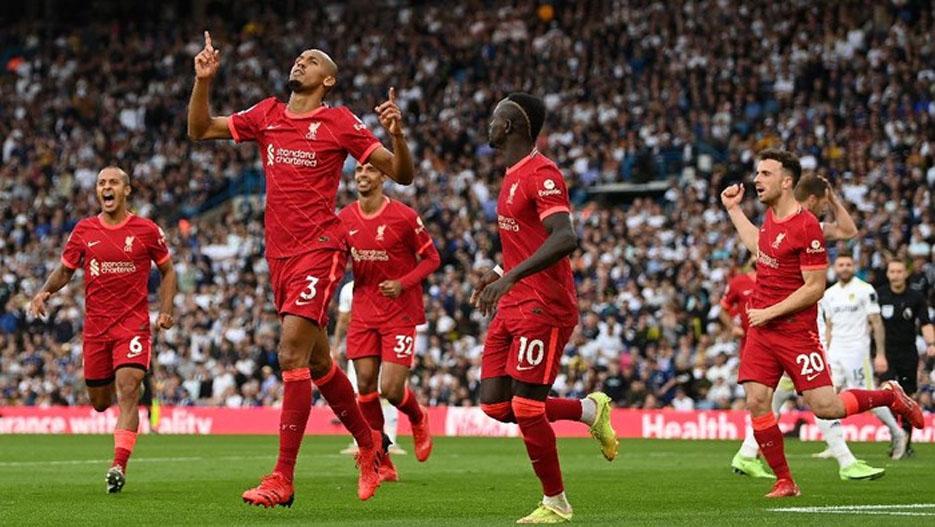 Hasil Pertandingan Leeds United vs Liverpool: The Reds Menang Dengan Skor 3-0