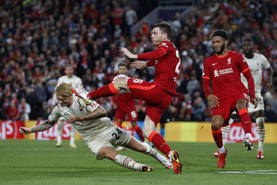 Liga Champions: Liverpool Kalahkan AC Milan 3-2