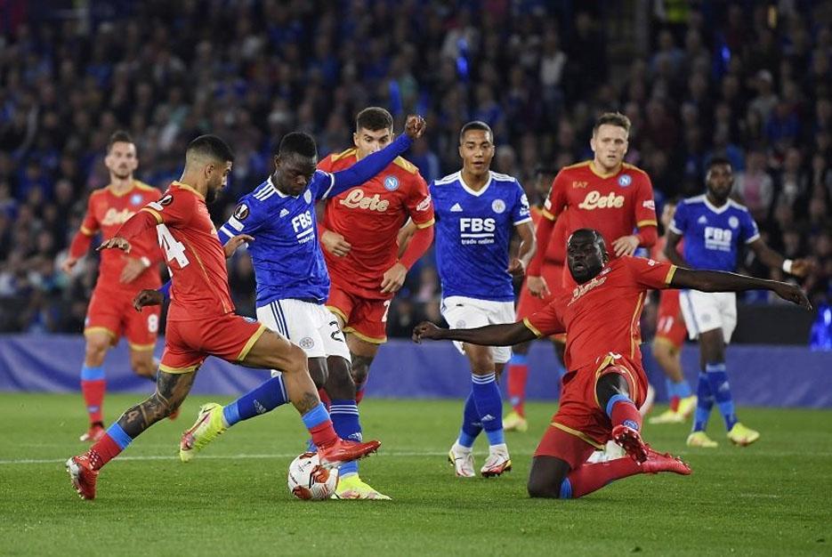 Hasil Liga Europa: Napoli vs Leicester City, Pertandingan Berakhir Imbang 2-2