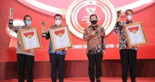 Pemprov Banten Raih Anugerah Terinovatif Pada Ajang IGA Kemendagri