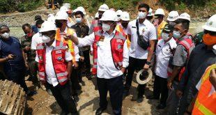 Gubernur Banten Resmikan Pembangunan Jembatan Ciberang di Kabupaten Lebak