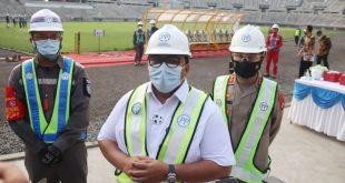 Presiden Komisaris PT. PP Tinjau Pembangunan Stadion Internasional Banten, Polda Banten Pastikan Keamanan