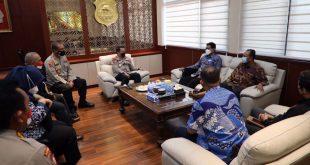 Kapolda Banten Terima Kunjungan Kepala Ombudsman Perwakilan Banten