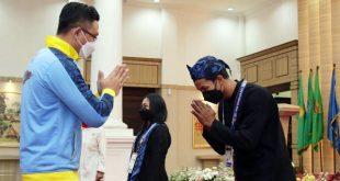 Wagub Melepas Kontingen Atlet Provinsi Banten untuk Berlaga di PON XX Papua 2021