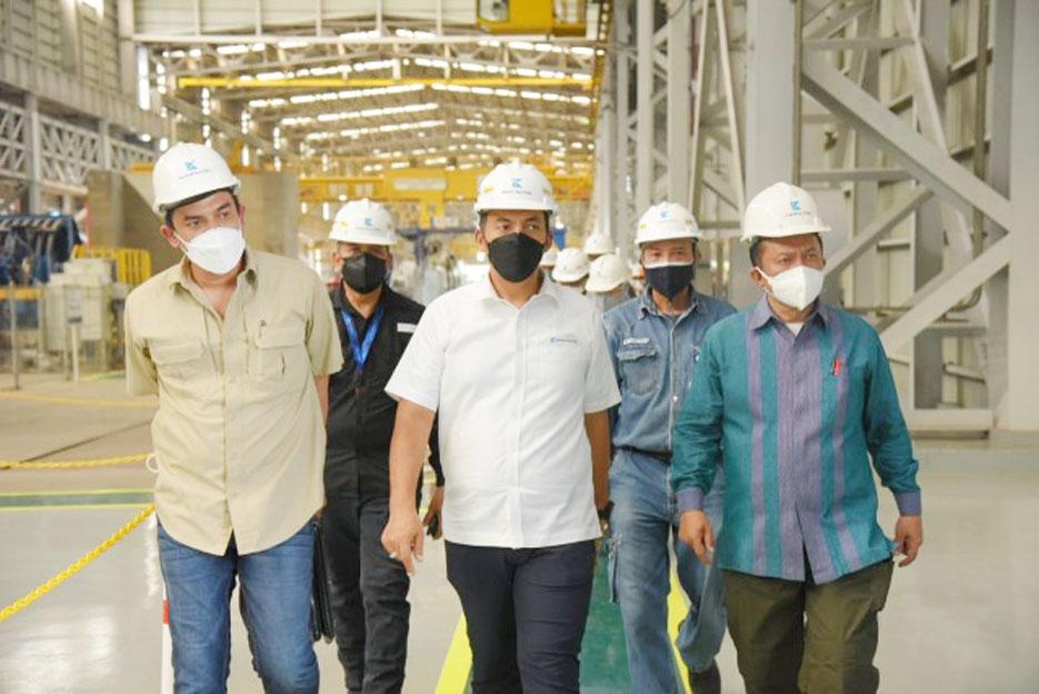 Komisi VII Dorong PT Krakatau Steel Hidupkan Industri Dalam Negeri