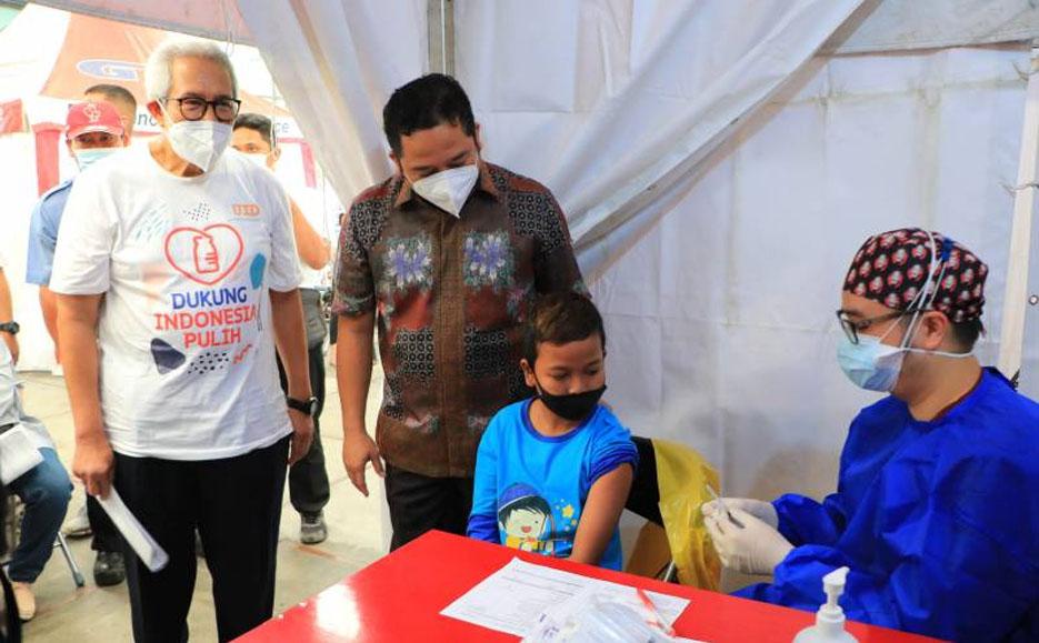 Walikota Arief Apresiasi Upaya Sektor Industri dalam Pembentukan Kekebalan Komunitas
