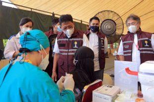 BPC HIPMI Kota Tangerang Gelar Vaksinasi Massal di Modern Golf and Country Club