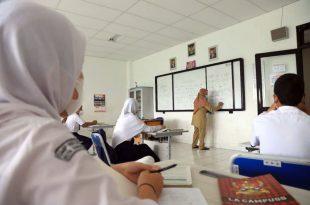 PTM Tingkat SMP di Kota Tangerang Berlangsung Dengan Siswa Terbatas