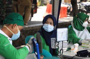 Upaya Herd Immunity, 99 Ribu Warga Karawaci Kota Tangerang Sudah Tervaksinasi