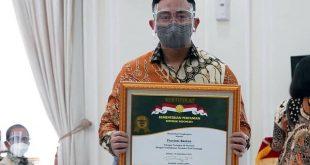 Provinsi Banten Peringkat 3 Nasional Peningkatan Produktifitas Padi 2019/2020