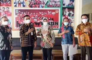 Bank Banten Beri Dukungan Dana Para Atlit Banten Berlaga di PON XX Papua