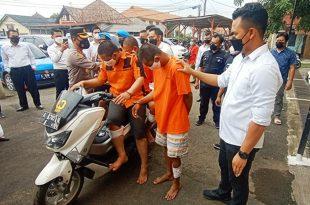 Polres Serang Kota Tembak 5 Pelaku Pecah Kaca Mobil di Kakinya