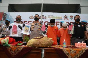 Polresta Tangerang Bekuk 2 Tersangka Pembunuhan Bermotif Dendam Karena Ditipu Korban