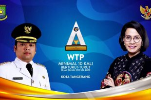 Pemkot Tangerang Kembali Terima Penghargaan WTP Dari Kemenkeu, Arief: Harus Lebih Ditingkatkan