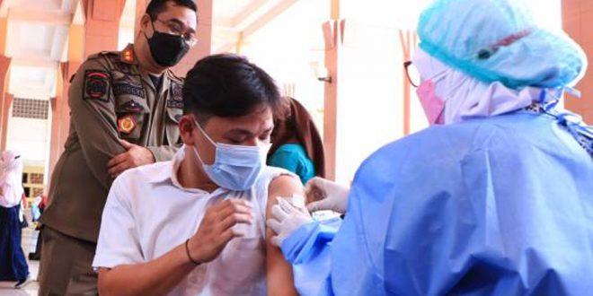 Capaian Vaksinasi Covid-19 di Kota Tangerang Sudah Mencapai 1 Juta Jiwa