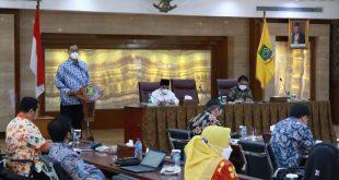 Wakil Walikota Menerima Kunjungan Komisi X DPR RI di Puspem Kota Tangerang