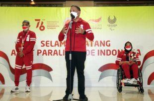 Menpora: Atlit Indonesia di Paralimpiade Tokyo Adalah Pejuang Bangsa