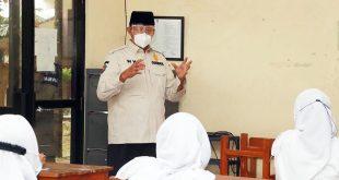 Tinjau PTM, Gubernur Banten: Berjalan Lancar Sesuai Protokol Kesehatan