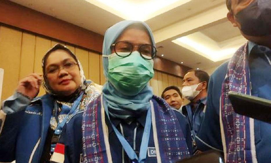 Iti Octavia Jayabaya Secara Aklamasi Kembali Terpilih Menjadi Ketua DPD Demokrat Banten
