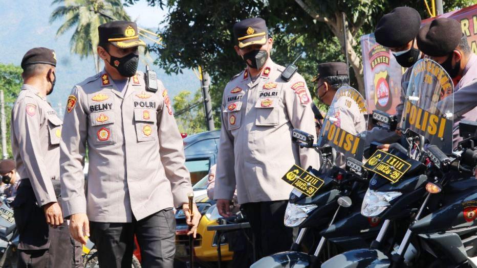 Kapolres Pandeglang Ingatkan Calon Kepala Desa untuk Tidak Lakukan Kekerasan dan Pengrusakan