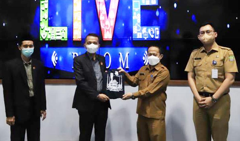 Monev 2021, Komisi Informasi Banten Lakukan Visitasi di Pemkot Tangerang