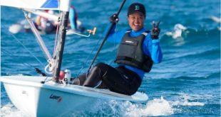 Kirana Wardojo Berhasil Raih Medali Emas Ketiga untuk Cabor Layar PON XX Papua