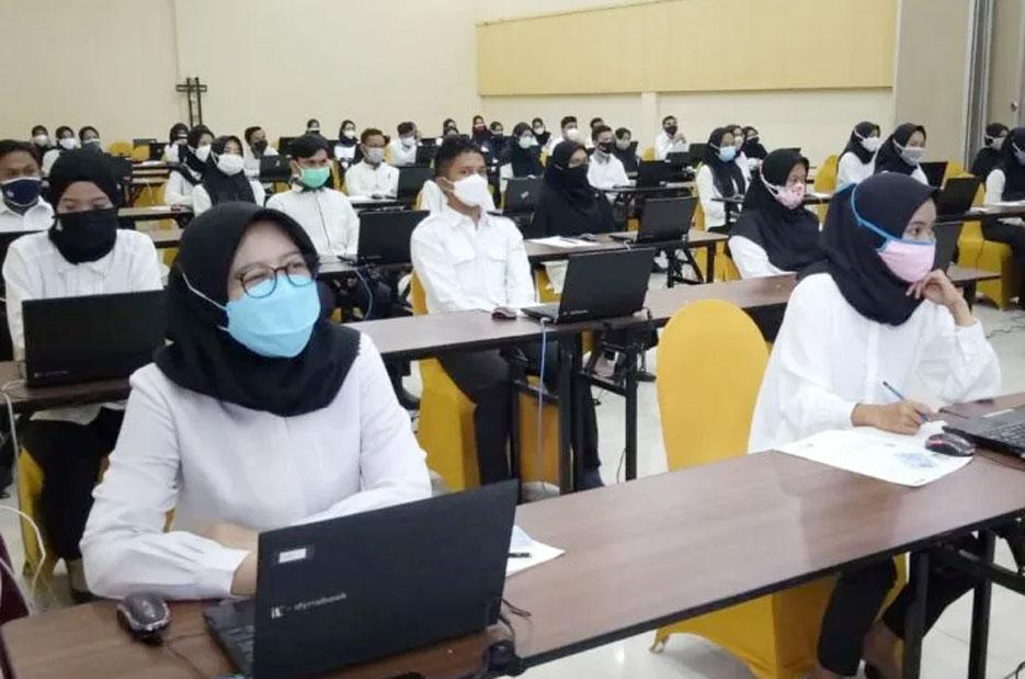 39 Peserta Tes SKD CPNS di Pemkab Serang Dianggap Gugur